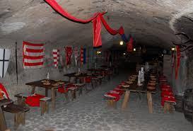 Középkori étterem a Boldogkőváraljai Vár alatt.